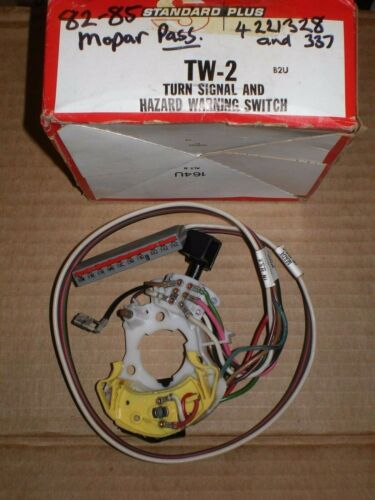 82-85 CHRYSLER TOWN COUNTRY 82-84 LEBARON NEW YORKER IMPERIAL TURN SIGNAL SWITCH