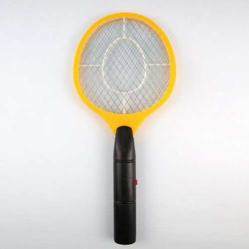 Cordless Electric Battery Bug Zapper Mosquito Insect Electric Fly Swatter Racket
