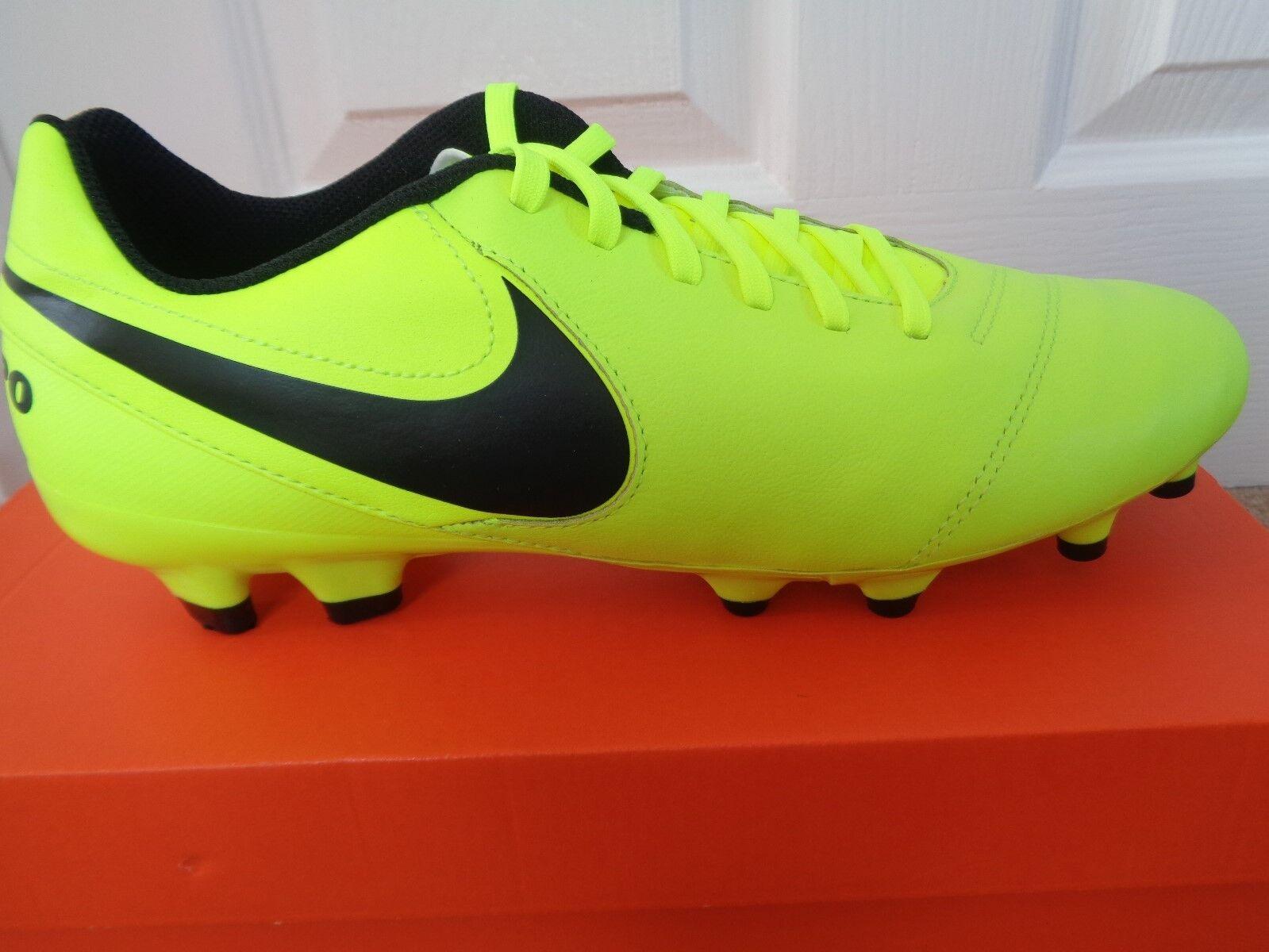 sports shoes 71260 471d3 Nike Tiempo Genio II Leather Scarpe da calcio calcio calcio 819213 707 EU  42 US 8.5 NUOVE f60dc7