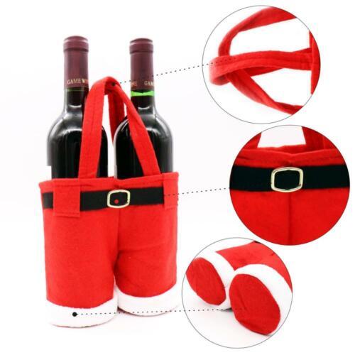 4X Weihnachten Bonbon Tasche Geschenktasche Geschenkbeutel Santa Hosen Beutel DE