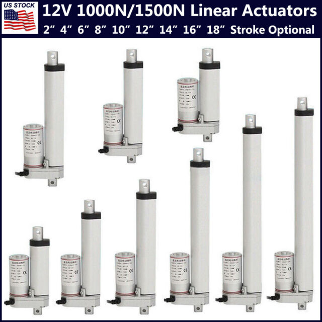 6/'/' Stroke Heavy Duty DC Linear Actuator Motor for Electric Auto Medical Lifting