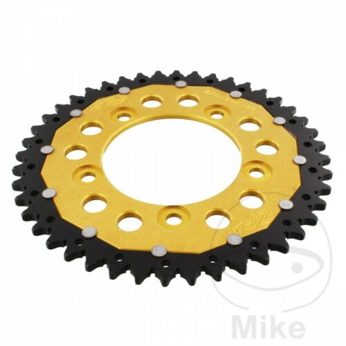 ZF Rear Sprocket 44T 520P ZFD-746-44-GLD Dual Gold Ducati Panigale 959 ABS 2017