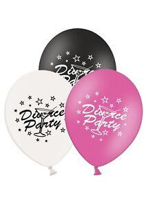 Divorcio-Fiesta-12-034-Globos-De-Latex-Impresos-Surtido-Paquete-de-6-Party-Time