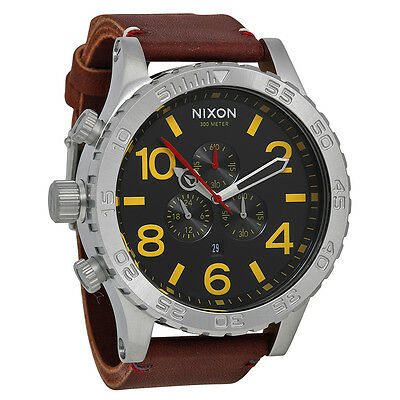 Nixon Black Brown Mens Watch A124019