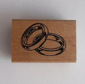 Stempel Hochzeitsringe Als Stempelmotiv Hochzeit Basteln