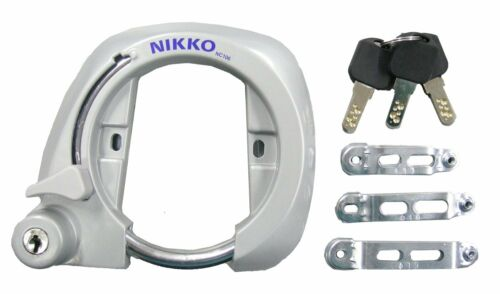 Japanese Nikko Bike bicycle Frame lock cadenas vélo cadre easy and convenient