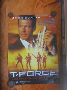 T-FORCE-JACK-SCALIA-VIDEO-STORE-1-SHEET-MOVIE-POSTER
