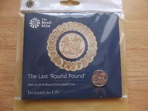 2016 NEW The Last Round Pound  United Kingdom 1 Brilliant - Wellingborough, United Kingdom - 2016 NEW The Last Round Pound  United Kingdom 1 Brilliant - Wellingborough, United Kingdom