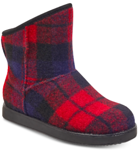 NEW Indigo Women's Aylee Shearling Style Boots Size 8 M Dark Red $69