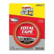 Super Glue 90017 Double Sided Tape34 Widthrubber