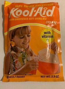 Vintage-1970s-Kool-Aid-Full-Unopened-Pack-Orange-Sugar-Sweetened-Large-Packet