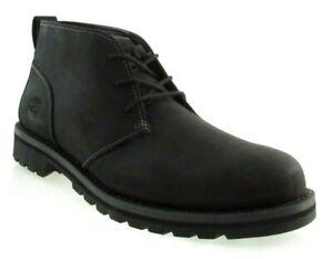TIMBERLAND-A179R-GRANTLY-MEN-039-S-BLACK-NUBUCK-CHUKKA-BOOTS