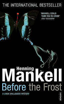 """""""AS NEW"""" Mankell, Henning, Before The Frost Book"""