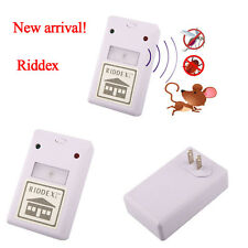 US Plug Riddex electronic ultrasonic Repeller Control spiders Ant rat aid Killer