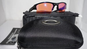 bb30e80507 Oakley New Authentic Flak Jacket XLJ Black Prizm Trail OO9009-08 ...