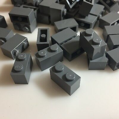 NEW LEGO 1x2 BLACK BRICKS bulk lot blocks modular 3004 300426 city building 50