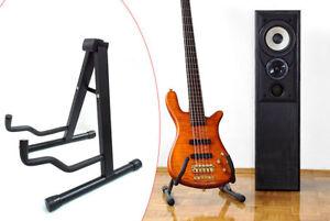 Royaume-Uni-Cadre-Universel-Trepied-pliable-guitare-s-039-adapte-a-toutes-les-guitares-acoustique