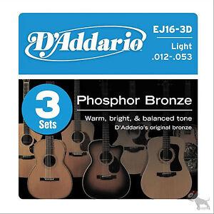 D-039-addario-3-Sets-EJ16-Light-Acoustic-Guitar-Strings-EJ-16-3D-Pack-12-53