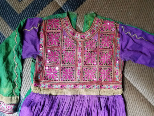 Antique Afghanistan Koochie Nomad Dress Kochie Buk