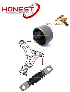 For LEXUS RX350 RX400H 05/> FRONT LOWER WISHBONE CONTROL ARM BUSHS X2 Piece Kit