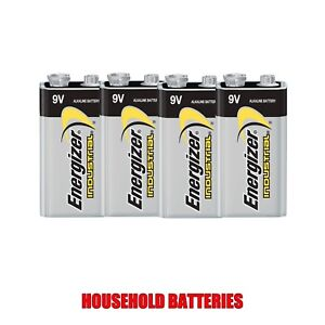 Energizer-EN22-Industrial-9V-Battery-x-4-New