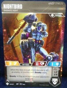 Transformers TCG War for Cybertron Siege 2 Nightbird Promo Card