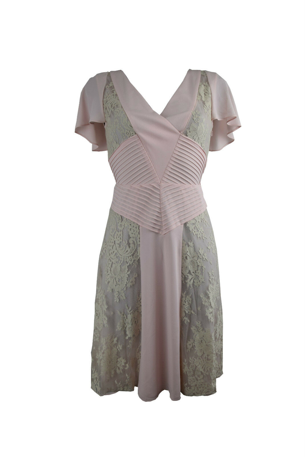 ALICE By Temperley London Baby rosa Pizzo Pannello DRESS Dimensione UK8