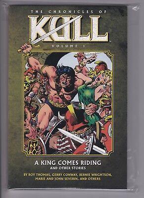 Savage Sword of Kull TPB 2-1ST NM 2011 Stock Image