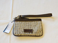Dooney & Bourke Yc08 Gy Grey T-mo 310420865 Embossed Leather Nwt^