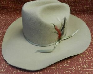 Silver Bullet Cowboy Hat Made By Turner Hat Company Model The Texan ... 7378f712ad1