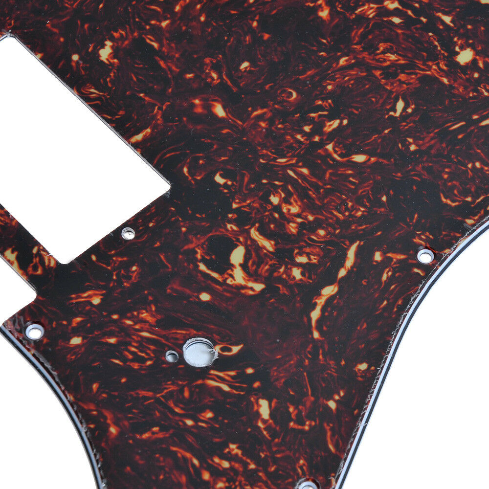 Fender Strat Pickguard : electric guitar pickguard for fender strat parts 4 ply dark brown tortoise shell 634458557764 ebay ~ Vivirlamusica.com Haus und Dekorationen
