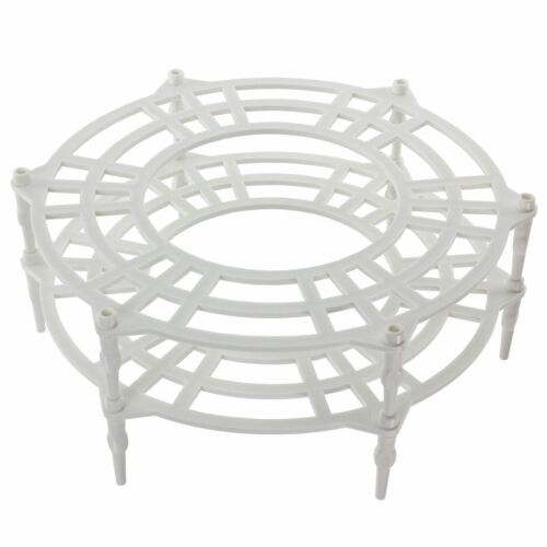 Double Tier Plate Stand Warming Rack UNIVERSAL Microwave Single