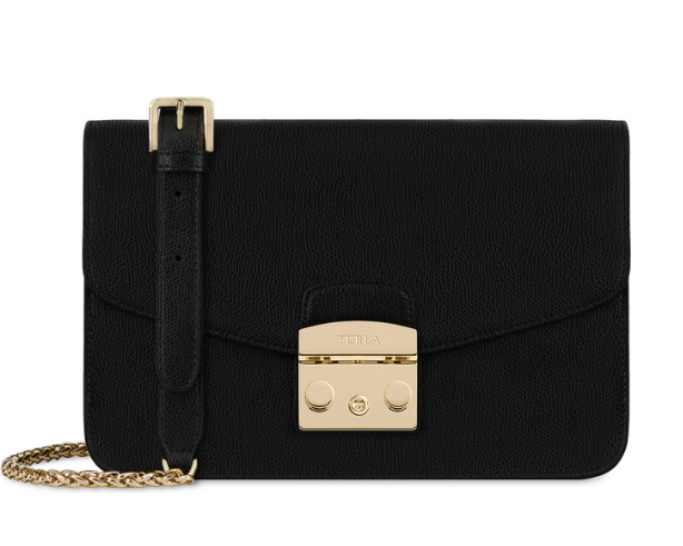6bdd5526e35e Furla Metropolis Shoulder Bag S Onyx 972392 for sale online | eBay