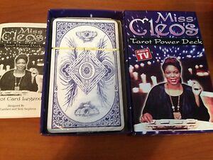 Details about NEW SEALED Miss Cleo's Tarot Power Deck tarot cards