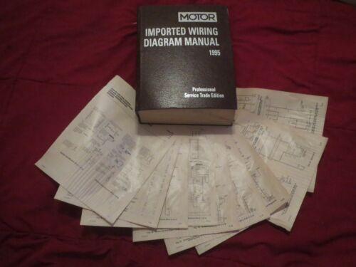 1995 SUBARU IMPREZA WIRING DIAGRAMS SCHEMATICS SET