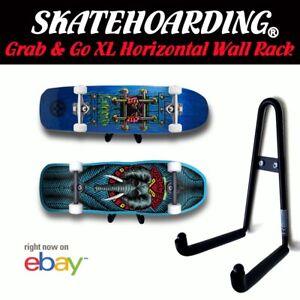 Skateboard Wall Mount Hanger Longboard Vintage Hawk Roskopp Powell Santa Cruz
