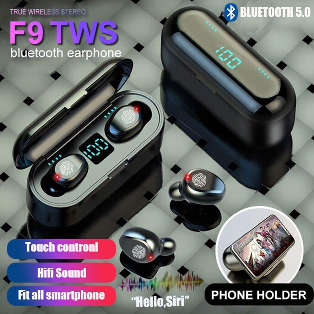 Bluetooth 5.0 Headset TWS Wireless Earphones Mini Earbuds IPX6 Stereo Headphones 3