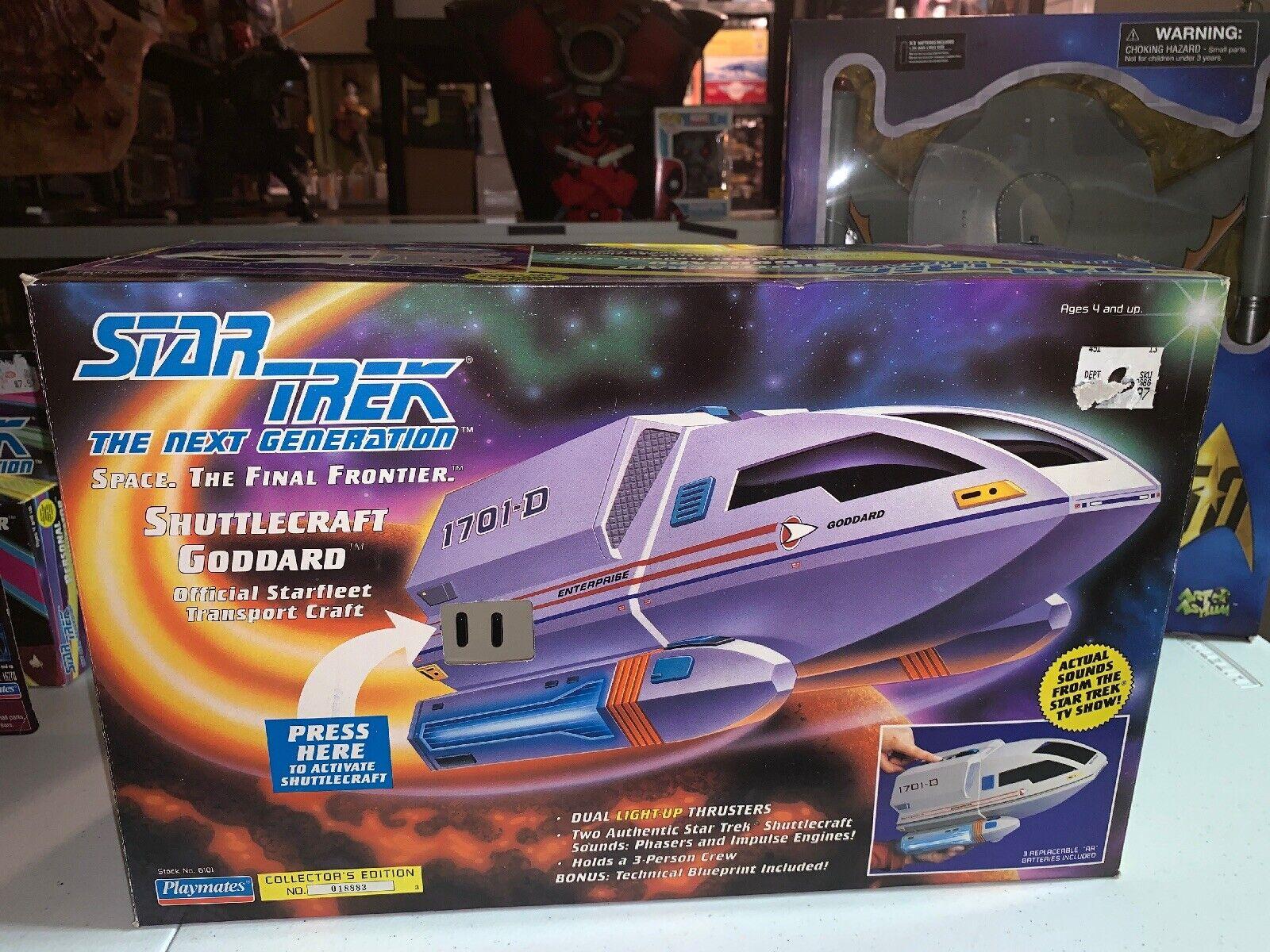 1992 Jugarmates Estrella Trek Arte transbordador Goddard 1701-D MIB NUEVO Y COMPLETO 6101