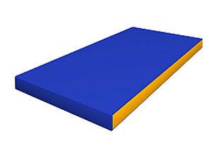 Gymnastic Soft Matting Blue Playground Mat For Kids Play