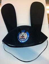 2012 E3 Disney Epic Mickey Mouse 2 Oswald Ostown Ears Felt Hat RARE EXCLUSIVE!