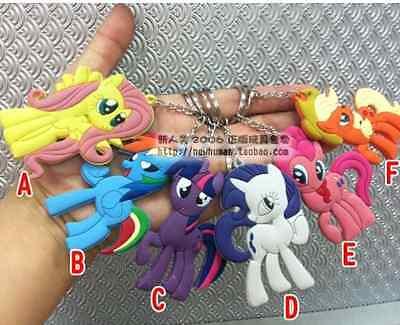 My Little Pony G4 Keychain Keyring