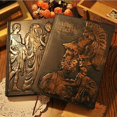 """""""Alex Maiden"""" Luxury Notebook Diary Faux Leather Cover Journal Planner Gift"""