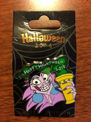 YZMA Halloween 2016 Pin Stained Glass Villains Series  LE3000 Emperors Groove