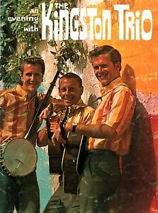 KINGSTON-TRIO-1963-SUNNY-SIDE-U-S-TOUR-CONCERT-PROGRAM-BOOK-BOOKLET-EX-2-NMT