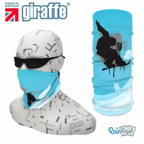 G384 Snowboard Headgear Neckwarmer multifunctional Bandana Headband Giraffe
