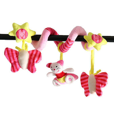 Cute Toddle Baby Strooler Toy Bar Carseat Toys for Infant Pram Car Activity