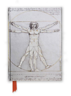 Da Vinci's Vitruvian Man 9781783616671 Flame Tree Publishing 2016 Notebook
