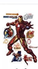 item 1 Original FATHEAD Iron Man Marvelu0027s Avengers Wall Decal Sticker 96-96083 NEW -Original FATHEAD Iron Man Marvelu0027s Avengers Wall Decal Sticker ...  sc 1 st  eBay & Fathead REALBIG Marvel Avengers Assemble Wall Decal Iron Man | eBay