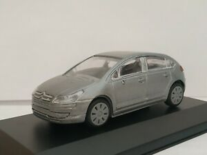 1-43-CITROEN-C4-GRIS-COCHE-DE-METAL-A-ESCALA-SCALE-CAR-DIECAST