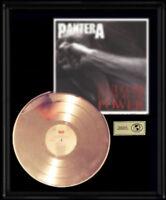 PANTERA VULGAR DISPLAY OF POWER  RARE GOLD RECORD PLATINUM  DISC ALBUM FRAME